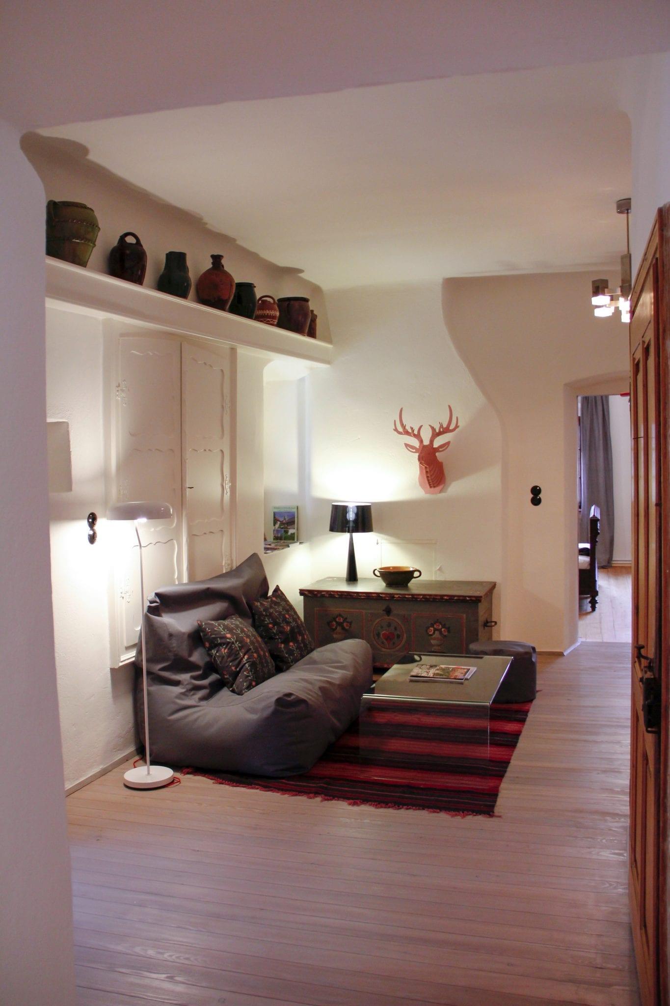Kleines Wohnzimmer im Haupthaus