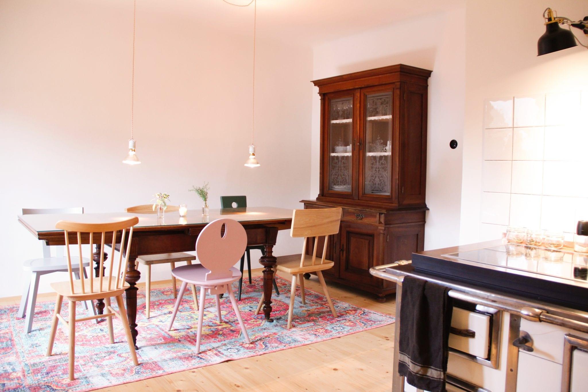 Küche und Essplatz im Haupthaus