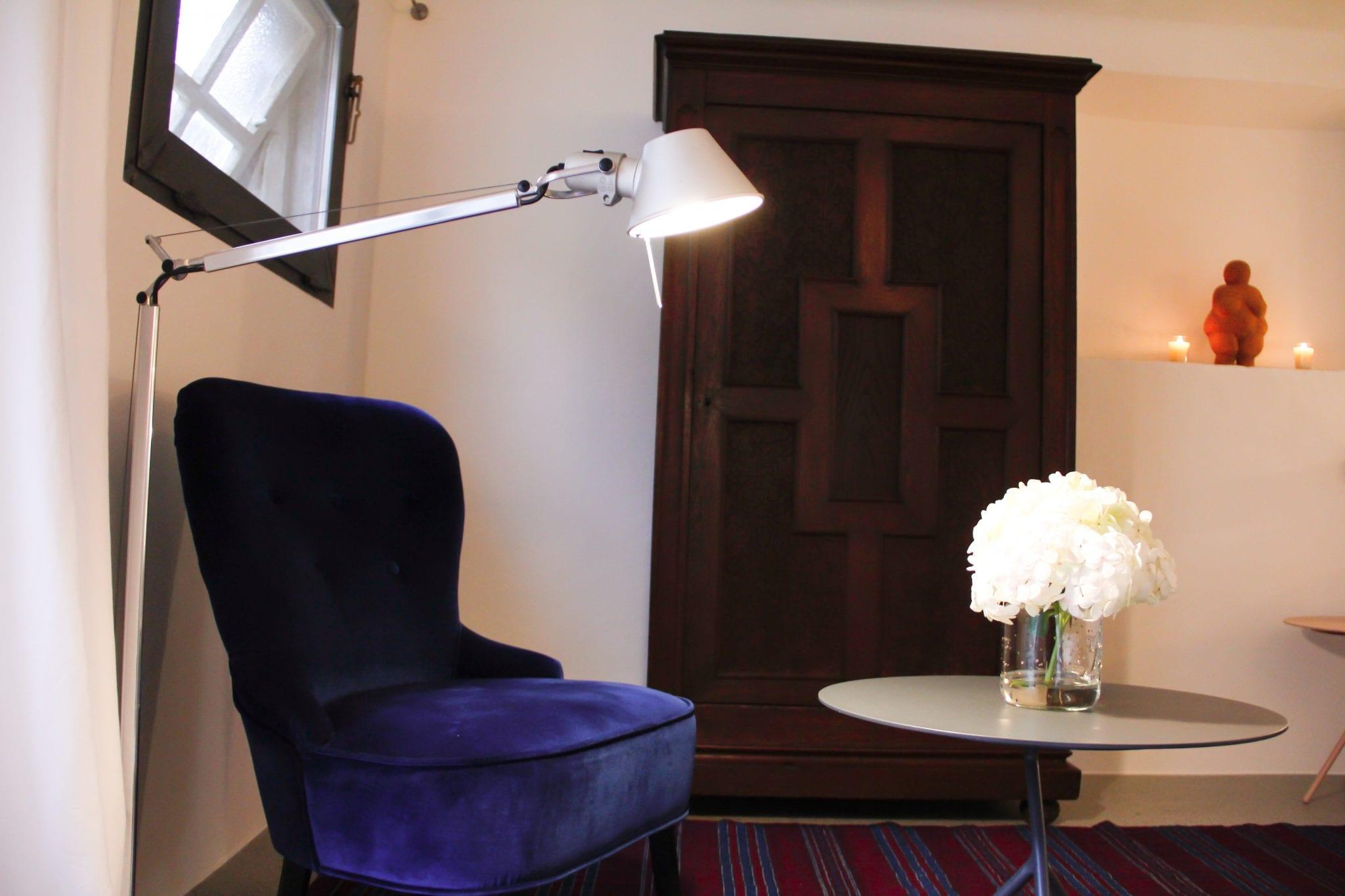Sitzecke im Loft Apartment