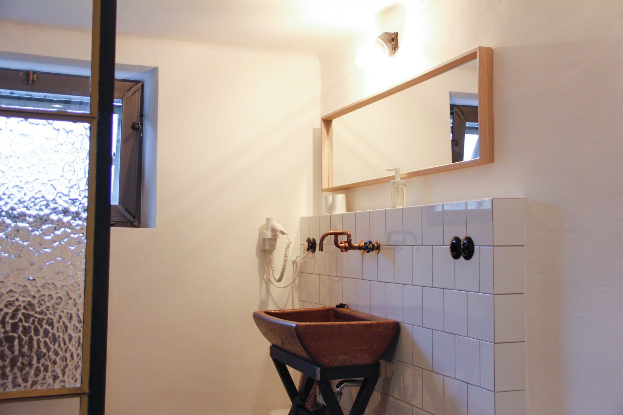 Badezimmer im Loft Apartment