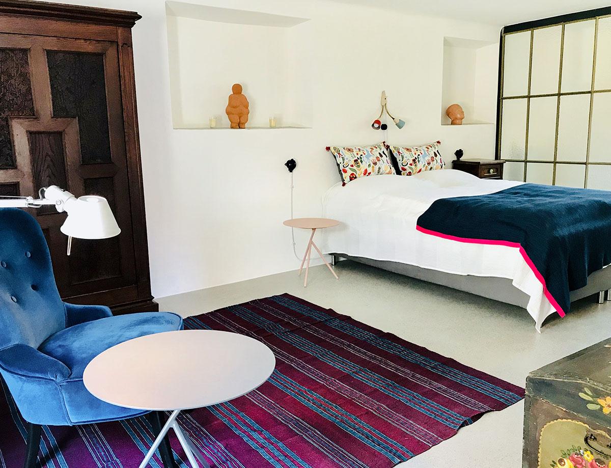 Resterhof Wachau Schlafzimmer