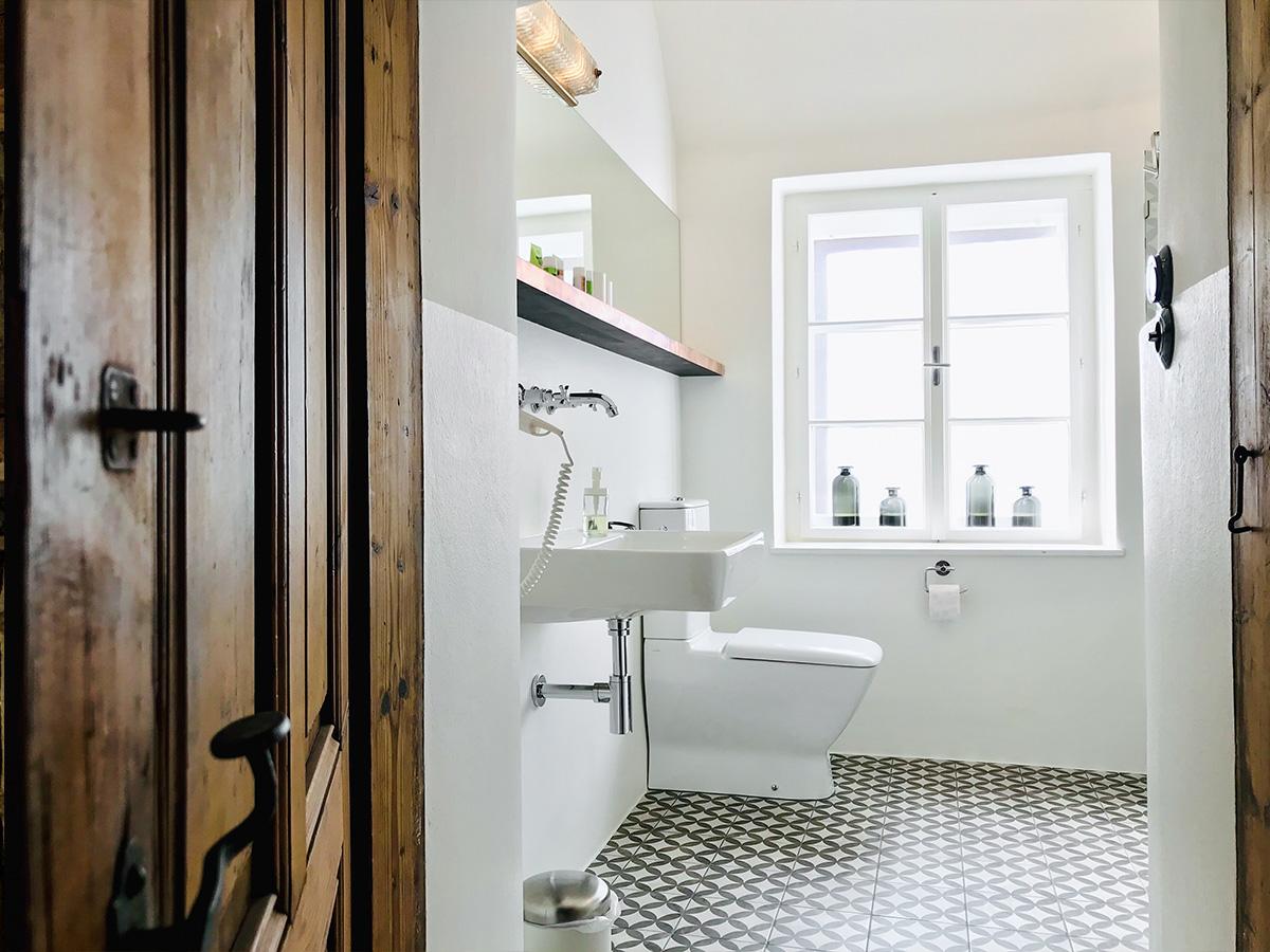 Badezimmer im Haupthaus